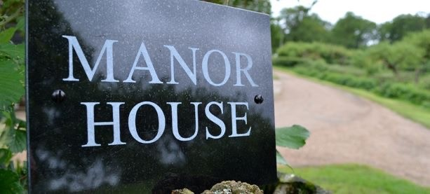 House Sign Example by Derbyshire Memorials